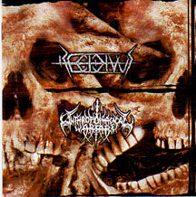 "Anthropophagical warfare/Recidivus - ""Anesthesia/Bestial Genocide"""
