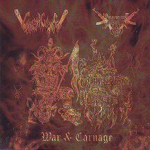 "Chainsaw Carnage / Wargoatcult  - ""War & Carnage"""