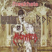 "Mixomatosis / R.D.B. /  Freakhate / Bunder Nekromunda - ""4 Way Split Cd"""